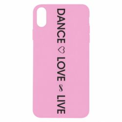 Чехол для iPhone X/Xs Dance love live