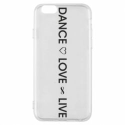 Чехол для iPhone 6/6S Dance love live