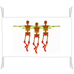 Флаг Dancing skeletons