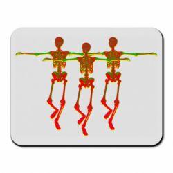 Коврик для мыши Dancing skeletons