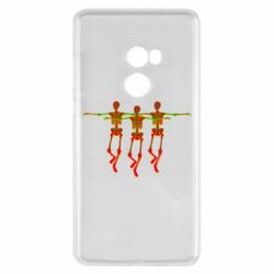 Чехол для Xiaomi Mi Mix 2 Dancing skeletons
