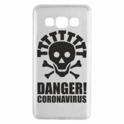 Чохол для Samsung A3 2015 Danger coronavirus!