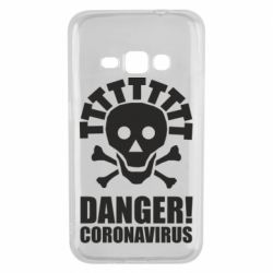 Чохол для Samsung J1 2016 Danger coronavirus!