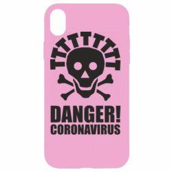 Чохол для iPhone XR Danger coronavirus!