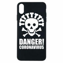 Чохол для iPhone Xs Max Danger coronavirus!