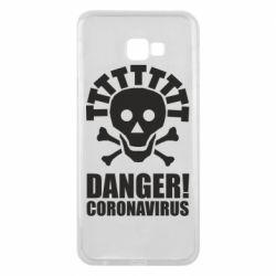 Чохол для Samsung J4 Plus 2018 Danger coronavirus!