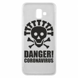 Чохол для Samsung J6 Plus 2018 Danger coronavirus!