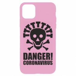 Чохол для iPhone 11 Danger coronavirus!