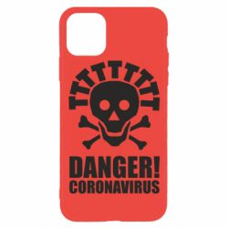 Чохол для iPhone 11 Pro Danger coronavirus!