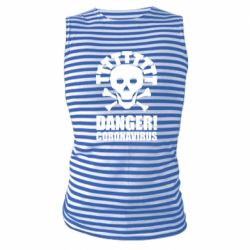 Майка-тільняшка Danger coronavirus!