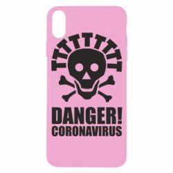 Чохол для iPhone X/Xs Danger coronavirus!