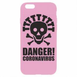 Чохол для iPhone 6 Danger coronavirus!