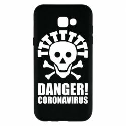 Чохол для Samsung A7 2017 Danger coronavirus!