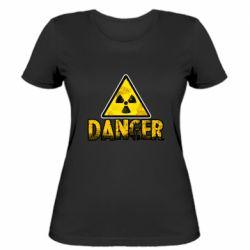 Жіноча футболка Danger icon