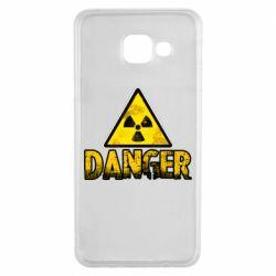 Чохол для Samsung A3 2016 Danger icon