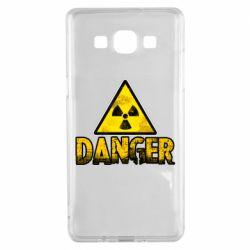 Чохол для Samsung A5 2015 Danger icon