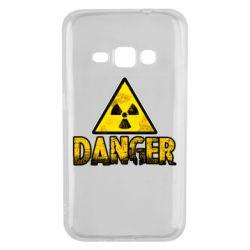Чохол для Samsung J1 2016 Danger icon