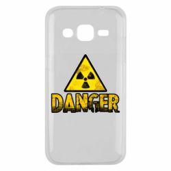 Чохол для Samsung J2 2015 Danger icon