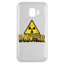 Чохол для Samsung J2 2018 Danger icon