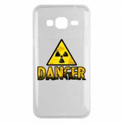 Чохол для Samsung J3 2016 Danger icon