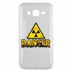 Чохол для Samsung J5 2015 Danger icon