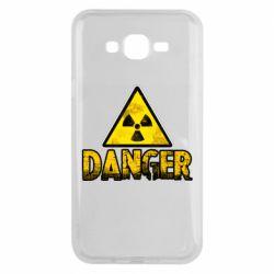 Чохол для Samsung J7 2015 Danger icon