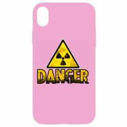 Чохол для iPhone XR Danger icon