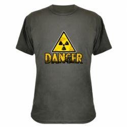 Камуфляжна футболка Danger icon
