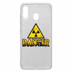 Чохол для Samsung A20 Danger icon