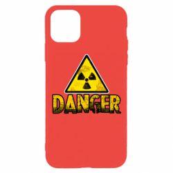 Чохол для iPhone 11 Pro Danger icon