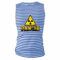 Майка-тільняшка Danger icon