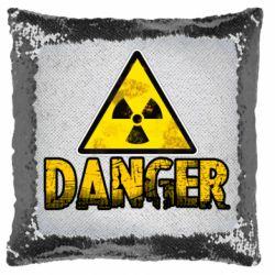 Подушка-хамелеон Danger icon
