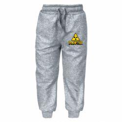 Дитячі штани Danger icon