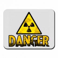 Килимок для миші Danger icon
