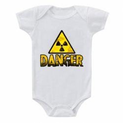 Дитячий бодік Danger icon