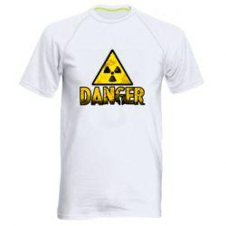 Чоловіча спортивна футболка Danger icon