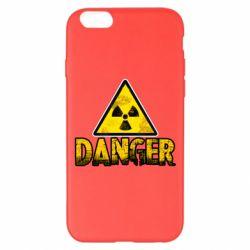 Чохол для iPhone 6 Plus/6S Plus Danger icon
