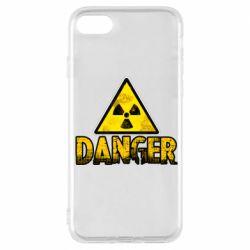 Чохол для iPhone 7 Danger icon