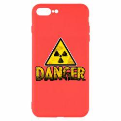 Чохол для iPhone 7 Plus Danger icon