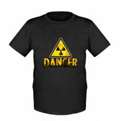 Дитяча футболка Danger icon