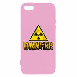 Чохол для iPhone 5 Danger icon