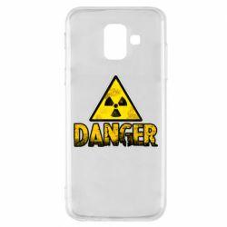 Чохол для Samsung A6 2018 Danger icon