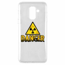 Чохол для Samsung A6+ 2018 Danger icon