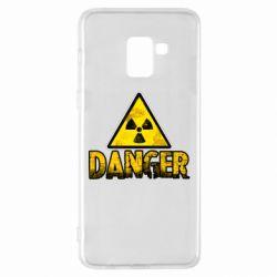 Чохол для Samsung A8+ 2018 Danger icon