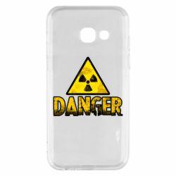 Чохол для Samsung A3 2017 Danger icon