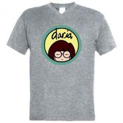 Чоловіча футболка з V-подібним вирізом Daria
