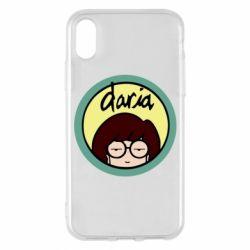 Чохол для iPhone X/Xs Daria