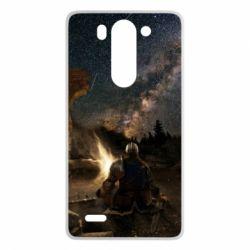 Купить Чехол для LG G3 mini/G3s Dark Souls Bonfire rest, FatLine