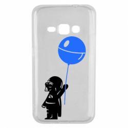 Чехол для Samsung J1 2016 Дарт Вейдер с шариком - FatLine