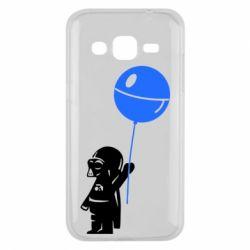 Чехол для Samsung J2 2015 Дарт Вейдер с шариком - FatLine